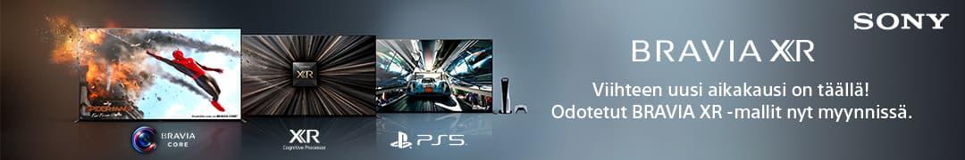 Sony BRAVIA XR -televisio - viihteen uusi aikakausi on täällä!
