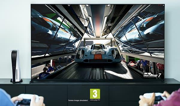 BRAVIA XR Playstation 5:n kanssa
