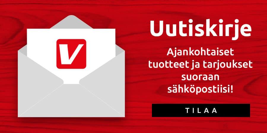 Uutiskirje - ajankohtaiset tuotteet ja tarjoukset suoraan sähköpostiisi! Tilaa tästä.