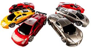 Miniature Super Sportscar - kauko-ohjattava RC-auto, 1:28