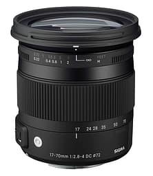 Sigma 17-70 mm F2.8-4 DC Macro OS HSM | C, Canon