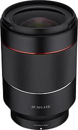 Samyang AF 35 mm f/1.4 FE -laajakulmaobjektiivi