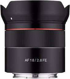 Samyang AF 18 mm F2.8 FE -laajakulmaobjektiivi