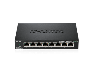 D-Link DGS-108 -8-porttinen kytkin