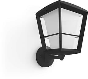 Philips Hue Econic Outdoor-älykäs lyhtyvalaisin, ylöspäin, musta, 30 cm, 1150 lm