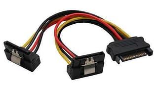 InLine Serial-ATA Y-virtakaapeli Serial-ATA kiintolevyille ja asemille