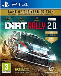 DiRT Rally 2.0 - Game of the Year Edition -peli, PS4