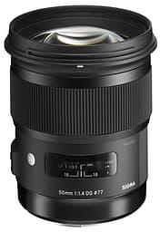 Sigma 50 mm F1.4 DG HSM | A objektiivi, Canon