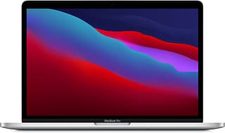 "Apple MacBook Pro 13"" M1 16 Gt, 512 Gt -kannettava, hopea"