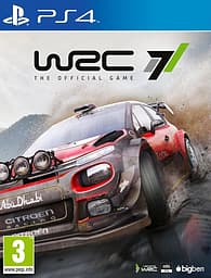 WRC 7 - The Official Game -peli, PS4