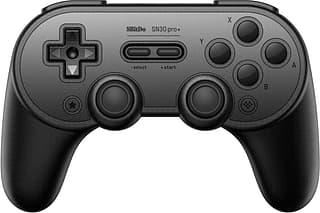 8Bitdo SN30 Pro+ Black -peliohjain, Switch / PC / Mac / Android