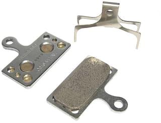 Shimano G04S -levyjarrupalat, metalliseos