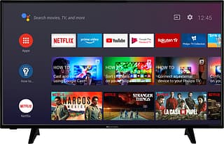 """ProCaster 50A900H 50"""" Ultra HD Android LED -televisio"""
