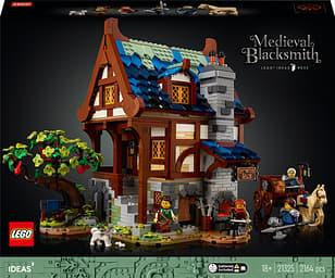LEGO Ideas 21325 - Keskiaikainen sepän paja