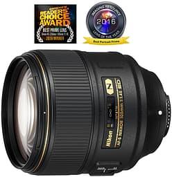 Nikon AF-S NIKKOR 105mm f/1.4E ED -teleobjektiivi