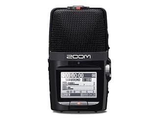 Zoom H2N stereotallennin viidellä mikrofonikapselilla