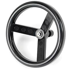 Nordic Crown -ratti, Sporty, Twinsitty, Race, Spin -rattaisiin, musta