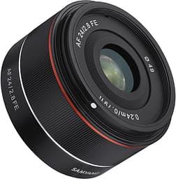 Samyang AF 24mm f/2.8 -objektiivi, Sony FE