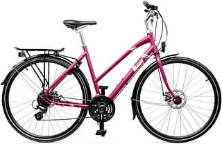 """Baana Manta 28"""" -hybridipyörä, 24-vaiht., violetti"""