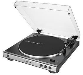 Audio-Technica AT-LP60XUSB -levysoitin, musta