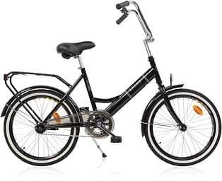 """Baana Suokki 20"""" 1-V polkupyörä, musta"""