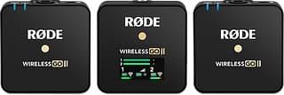 Rode Wireless GO II -langaton mikrofonijärjestelmä