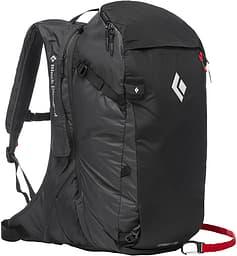 Black Diamond JetForce Pro Pack 35 -lumivyöryreppu, M/L, musta