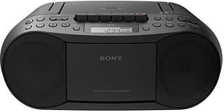 Sony CFD-S70 BoomBox -CD-radio, musta