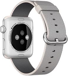 Apple Watch 42 mm helmenvärinen punottu nailonranneke, MMA72
