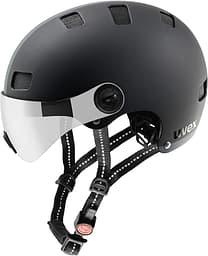 Uvex City v -pyöräilykypärä. 55-58 cm, black mat