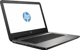 """HP Notebook 14-am009no 14"""" -kannettava, Win 10, hopea"""
