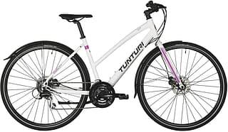 Tunturi RX300 F28-24 -naistenpyörä 48 cm valkoinen