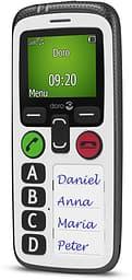 Doro Secure 580 senioripuhelin, valkoinen