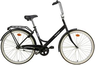 """Helkama isojopo -polkupyörä, musta, 26"""""""