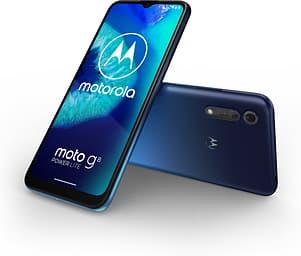 Motorola Moto G8 Power Lite-Android-puhelin, Royal Blue