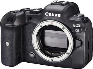 Canon EOS R6 -järjestelmäkamera, runko