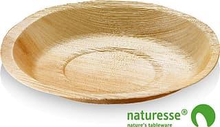 Naturesse-kertakäyttölautanen, 18 cm, 25 kpl