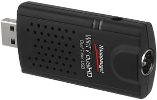 Hauppauge WinTV -dualHD TV tuner stick, DVB-T2/C/T -viritin USB-väylään