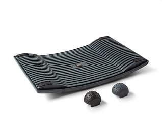Gymba -aktivointilauta ja hierontapallot, antrasiitti