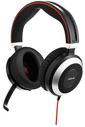 Jabra Evolve 80 UC -langallinen headset vastamelutoiminnolla