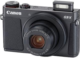 Canon PowerShot G9 X Mark II -digikamera, musta