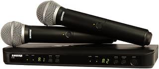 Shure BLX288/PG58-H8E -langaton mikrofonijärjestelmä