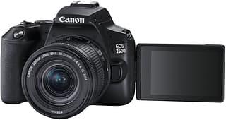 Canon EOS 250D -järjestelmäkamera, musta + 18-55 IS STM