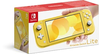 Nintendo Switch Lite -pelikonsoli, keltainen