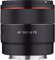 Samyang AF 35mm F1.8 -objektiivi, Sony FE
