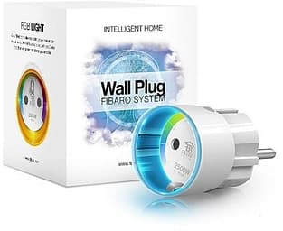 Fibaro Wall Plug -etäohjattava pistorasia Z-Wave-järjestelmiin