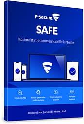 F-Secure SAFE - 7 laitetta / 12 kk -tietoturvaohjelmisto, ESD - sähköinen lisenssi