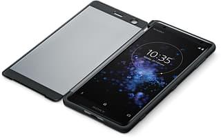 Sony Style Cover Touch -suojakotelo ikkunalla, Sony Xperia XZ2, Liquid Black