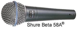 Shure Beta 58A - dynaaminen mikrofoni