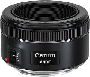 Canon EF 50mm f/1.8 STM -normaaliobjektiivi